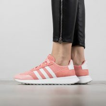 Boty - adidas Originals   RŮŽOVÝ   36 2/3 - Dámské boty sneakers adidas Origininals Flb W BY9307