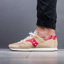 Boty - Saucony   HNĚDÝ   42 - Pánské boty sneakers Saucony Dxn Trainer S70369 16