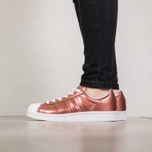 Boty - adidas Originals   ORANŽOVÝ   36 - DÁMSKÉ BOTY sneakers adidas Originals Superstar Boost BB2270