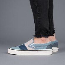 Boty - Vans | NIEBIESKI | 38 - Dámské boty sneakers Vans Classic Slip-On VA38F7Q9H