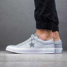Boty - Converse | POPIELATY, SZARY | 43 - Pánské boty sneakers Converse One Star 159723C