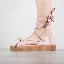 Boty - Puma   RŮŽOVÝ   37 - Dámské boty Puma X Fenty Rihanna Bow Creeper Sandal 365794 01