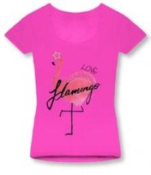MODOVO Dámské triko 1296 růžové