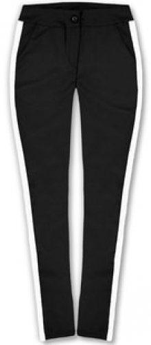 MODOVO Dámské kalhoty 7684 černo-bílé