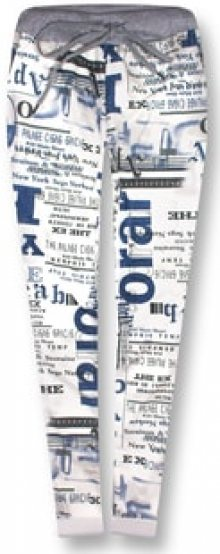 MODOVO Dámské tepláky 20032 bílo-modré
