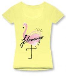MODOVO Dámské triko 1296 žluté