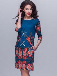 Jet Dámské šaty 1089.1-5214_turquoise\n\n