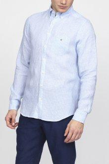 Košile GANT THE LINEN PINSTRIPE REG BD