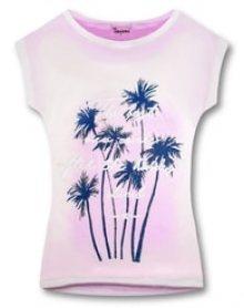 MODOVO Dámské triko 8124 růžové