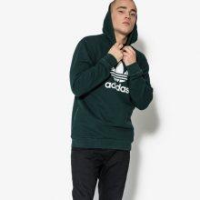 Adidas Mikina Trefoil Hoody Muži Oblečení Mikiny Cw1242 Muži Oblečení Mikiny Zelená US L