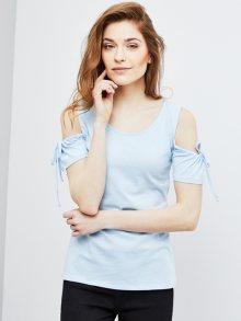 Moodo Dámské tričko L-TS-2572 LIGHT BLUE\n\n