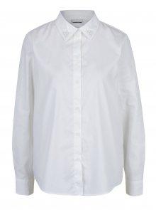 Krémová košile s ozdobou na límečku Noisy May Tigi