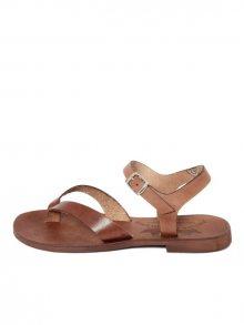 Antica Calzoleria Dámské sandály AC107_BROWN
