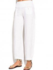 Bohabille Dámské kalhoty 6823 - SAFOU BLANC