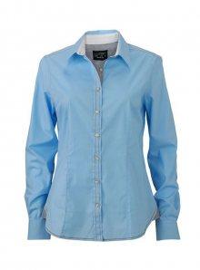 Dámská košile Casual - Modrá s bílou XS