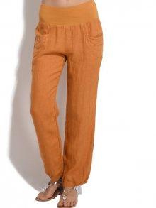 Kalipsa Rose Dámské kalhoty 6150 - CARMELIA OCRE