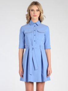 Marmuri Dámské šaty MR17S P6042_BLUE AZZURO