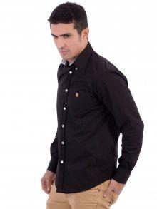 Polo Club Captain Horse Academy Pánská košile 12664_NEGRO/BLACK\n\n