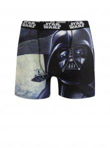 Modro-černé pánské boxerky s potiskem Star Wars