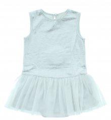 Šaty dětské Diesel | Bílá Stříbrná | Dívčí | 18 měsíců