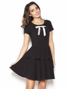 Katrus Dámské šaty K367_black\n\n