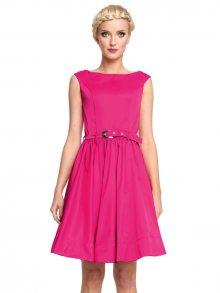 MONA by Monika Natora Dámské šaty DRESS 160 Růžová\n\n
