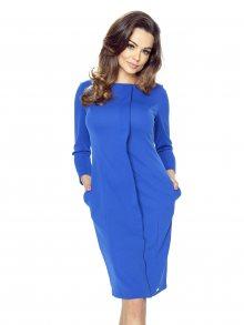 Bergamo Dámské šaty 47-04_blue