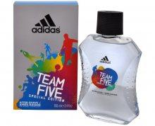 Adidas Team Five - voda po holení - SLEVA - poškozená krabička 100 ml