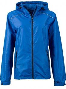 Dámská nepromokavá bunda JN - Královská/tmavě modrá S