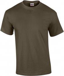 Tričko Gildan Ultra - Olivově zelená S