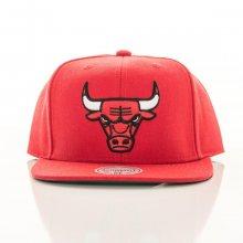 Snapback Solid Team Chicago Bulls červená Standardní