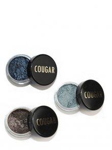 Cougar Sada tří minerálních očních stínů se štětcem Blue Smokey CBET012