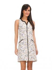 Areline Dámské šaty R800-IMP BEIGE\n\n