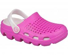 Coqui Dětské pantofle Bugy 6101 Fuchsia/Pearl 100172 26-27