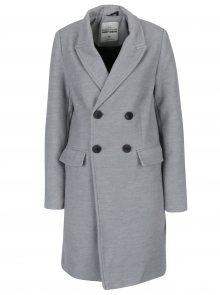 Světle šedý kabát se zapínáním na knoflíky TALLY WEiJL