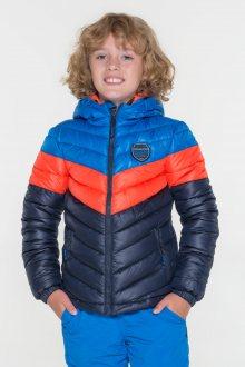 Sam 73 Chlapecká bunda na zip Sam 73 modrá tmavá 116