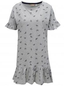 Šedá noční košile s potiskem motýlů Dorothy Perkins