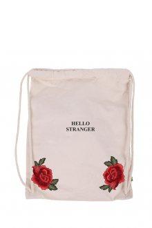 Vak Canvas Stranger Rose s nášivkou
