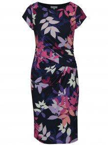 Růžovo-modré vzorované šaty Dorothy Perkins