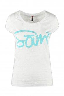 Sam 73 Dámské triko s nápisem Sam 73 bílá S
