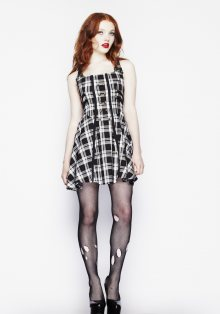 šaty dámské HELL BUNNY - Rock - 4185 L
