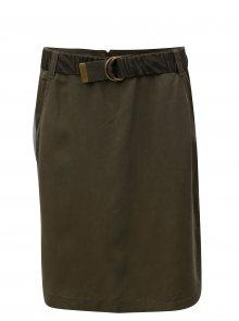 Khaki sukně s páskem BUSHMAN Sumatra