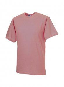 Lehké pánské tričko - Světle růžová S