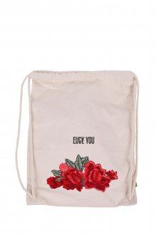 Vak Canvas Premium Fuck Love Rose s nášivkou