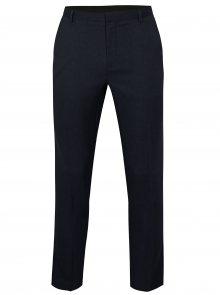 Tmavě modré slim fit kalhoty Burton Menswear London
