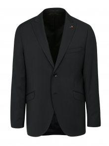 Tmavě šedé oblekové vlněné sako Good Son