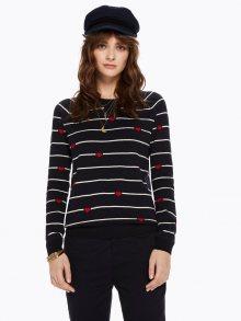 Scotch&Soda tmavě modrý svetr Striped Knit Pullover - XS