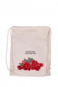 Vak Canvas Premium Die Rose s nášivkou
