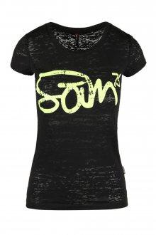Sam 73 Dámské triko s nápisem Sam 73 černá S