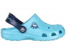 Coqui Dětské pantofle Little Frog 8701 Blue/Navy 102214 23-24